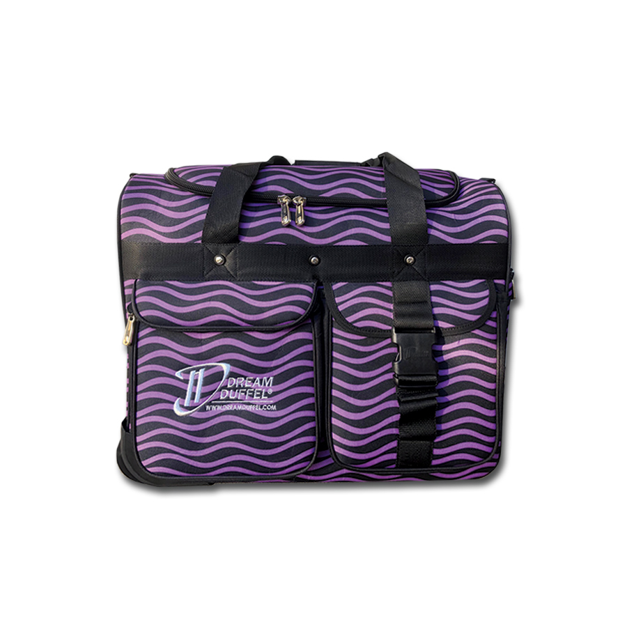 Limited Edition Dream Duffel Purple Waves Small